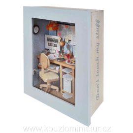 Diorama pracovny